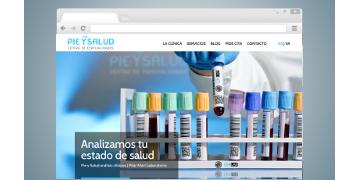 Web PIE Y SALUD